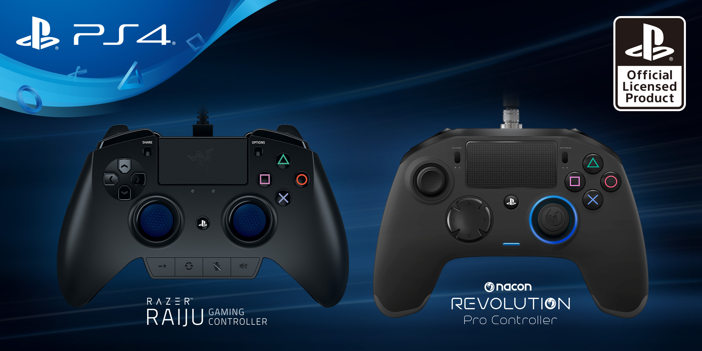 First look at two new licensed pro controllers for PS4 get cold shoulder