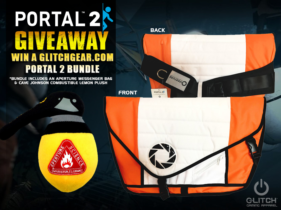 Portal Messenger Bag Giveaway