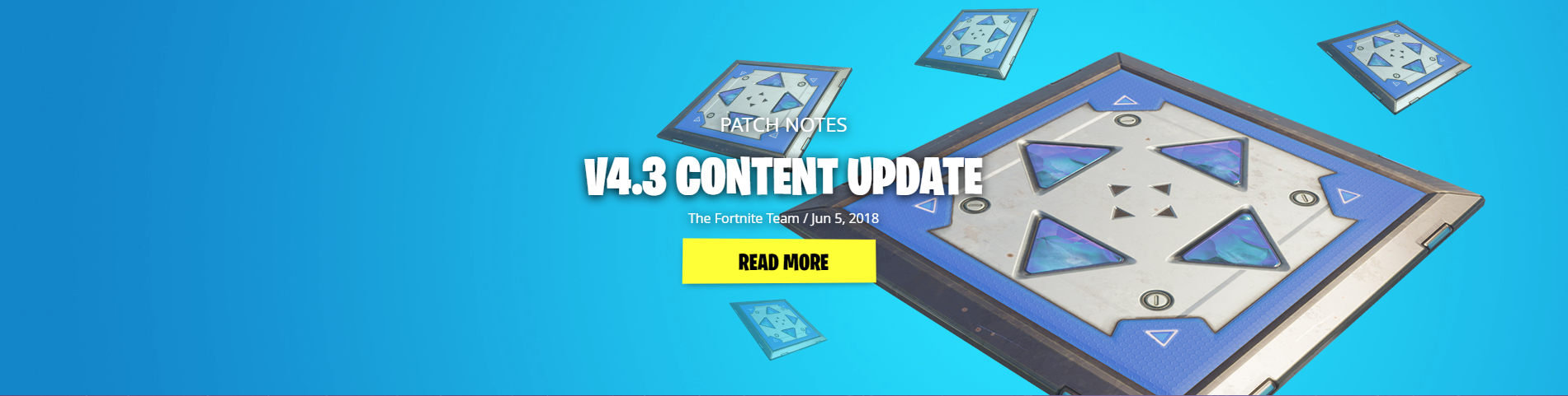 Patch note fortnite 40